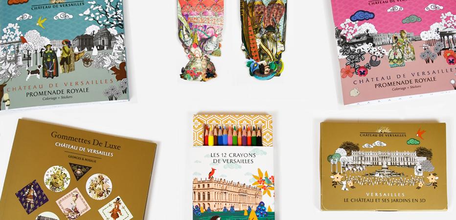 Coloriage Chateau Versailles.Collection Papeterie Boutique En Ligne Du Chateau De Versailles